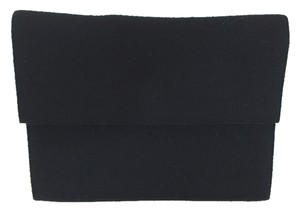 Dolce&Gabbana Wool Evening Black Clutch