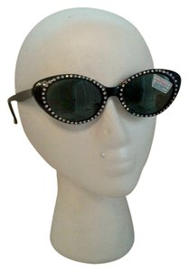 Other True VTG Blingy Rhinestone Cateye Sunglasses AWESOME Glam