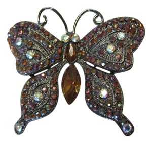 RHINESTONED BUTTERFLY