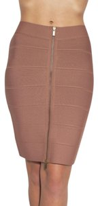 BCBGMAXAZRIA Tight Sexy New Summer Mini Skirt Toffee