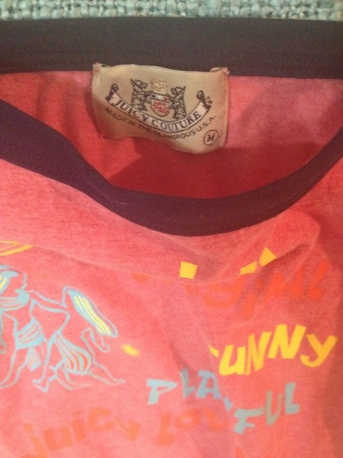 Juicy Couture Top Washed Red