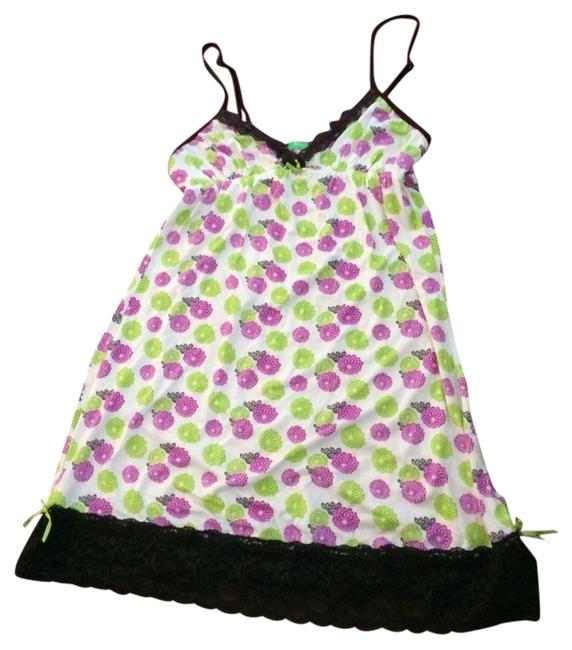 Honeydew Intimates Babydoll Babydoll Chemise Sleepwear Pajamas Soft Babydoll Sleepwear Top White, Brown, Green, Purple