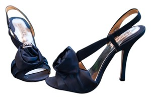 Badgley Mischka Navy Formal