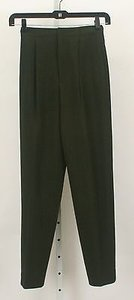 Dana Buchman 27 X Dark Olive Pleated Front Trousers B67 Pants