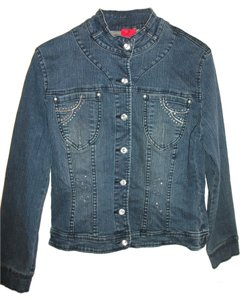Vera Wang blue Womens Jean Jacket