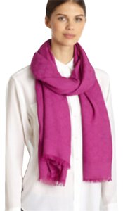 Gucci Gucci Nahar Cashmere Shawl Scarf In Magenta New With Tags