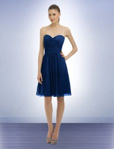 Bill Levkoff Navy 323 Dress