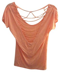 Charlotte Russe T Shirt Coral