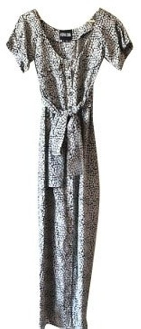 Black and white snake print Maxi Dress by Vena Cava