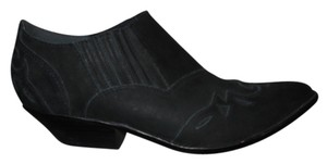 Circle S Leather black Boots