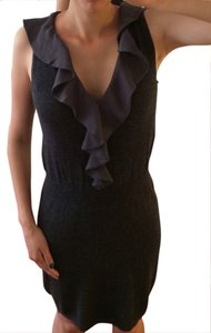 Ann Taylor LOFT Wool Ruffles Dress