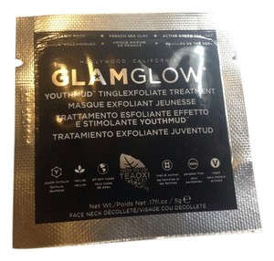 Glamglow Glamglow youthmud tinglexfoliate treatment mask travel size