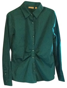 New York & Company Button Down Shirt Blue, Blumarine