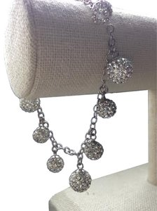 Bliss SALE 20% off -- Bliss Sterling Silver Swarovski Crystal ball bracelet