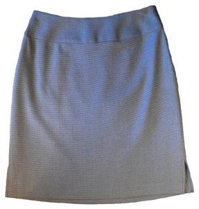 Amanda Smith Light Blue & Beige Skirt Blue, Beige