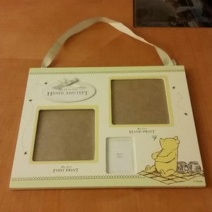 Pooh Baby's Firsts Frame