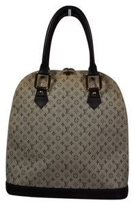 Louis Vuitton Nyc Satchel in Tan Brown