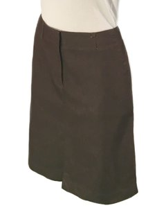 Kenneth Cole Mini Skirt Brown