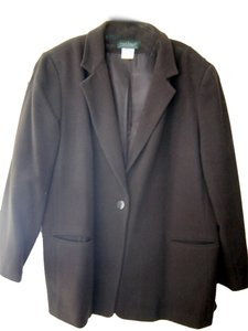 Harvé Benard Harve Benard/ Benard Holtzman Brown Wool Blend Blazer Jacket / Lined/ Size 18W