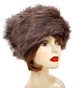 Warm Chic Brown Fur Winter Hat