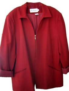 Other J.H. Collectibles Wool crepe Red Jacket/Size 24W