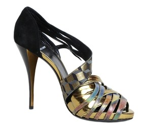 Pierre Hardy Hardy Leather Heels Designer multi color Pumps