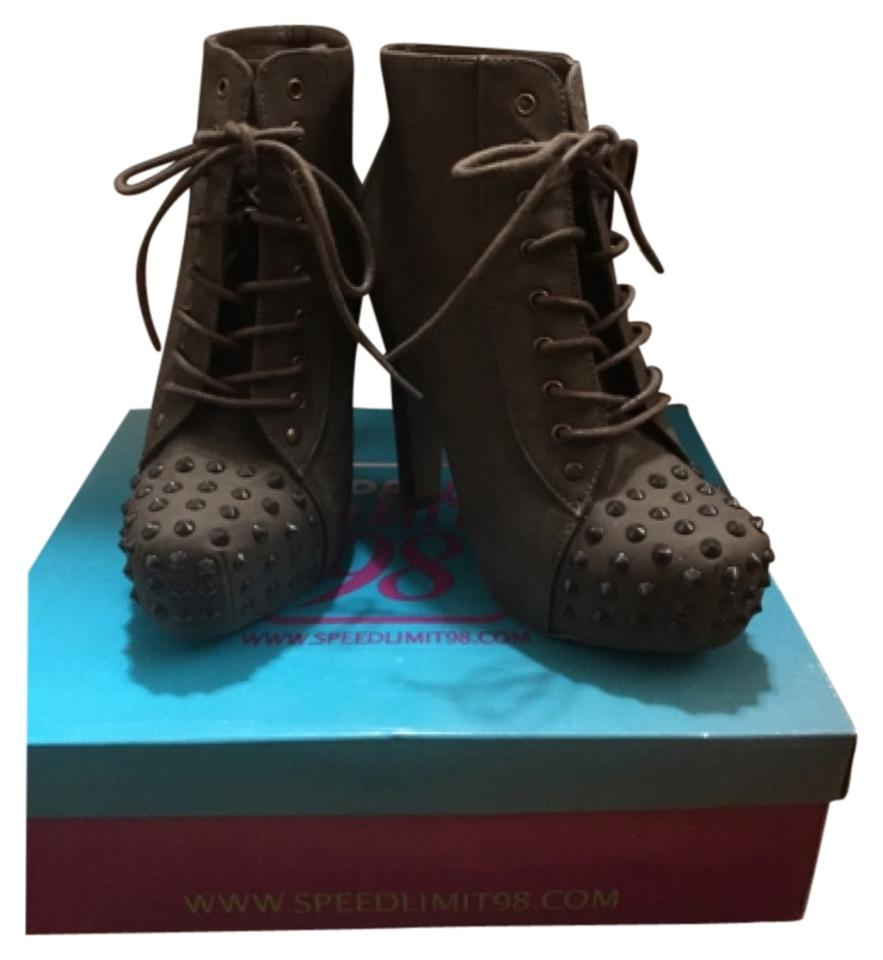 womens Speed Limit Boots/Booties 98 Olive Boots/Booties Limit New design 3d0826