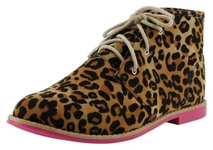 Red Circle Footwear Leopard Boots