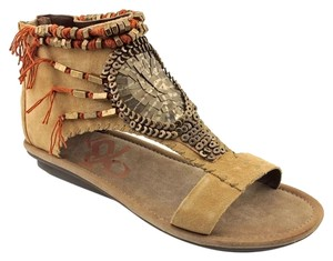 Embell Embellished Beaded Desert Sandals