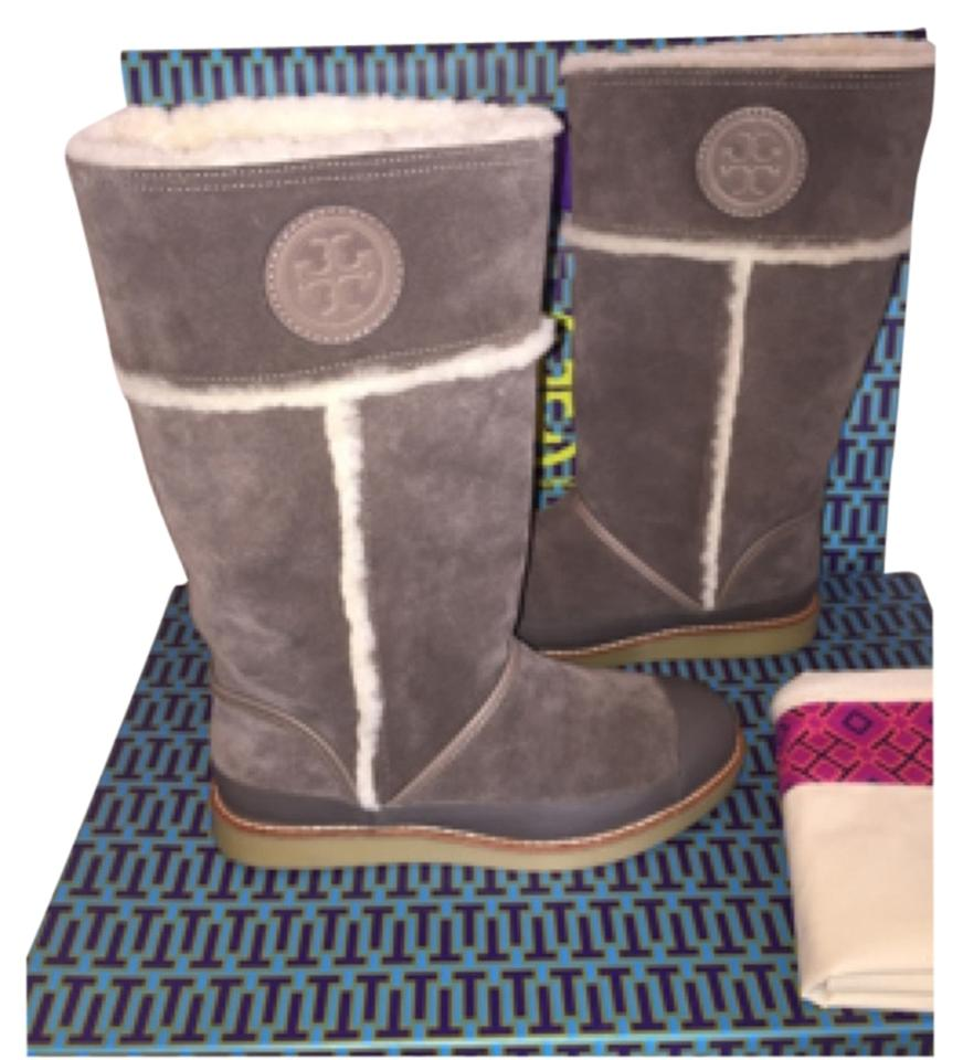 womens Tory Burch Gray Gray Burch Boots/Booties Really 016386