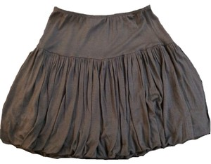 zinc Mini Skirt Gray