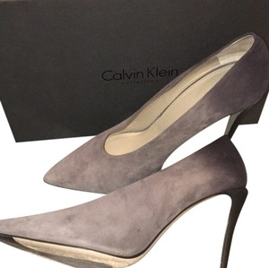 Calvin Klein Collection Gray/Black Ombre Pumps