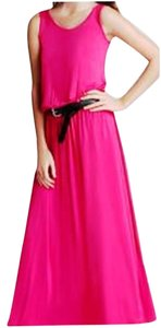 Pink Maxi Dress by Michael Kors Belted Maxi