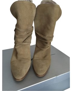 Brian Atwood Tan Boots