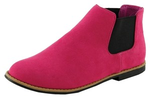 Red Circle Footwear Fuchsia Boots
