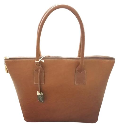 Preload https://item5.tradesy.com/images/carbotti-leather-handmade-tote-bag-tan-958784-0-0.jpg?width=440&height=440