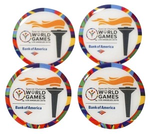 World 4 Special Olympics World Games Pin