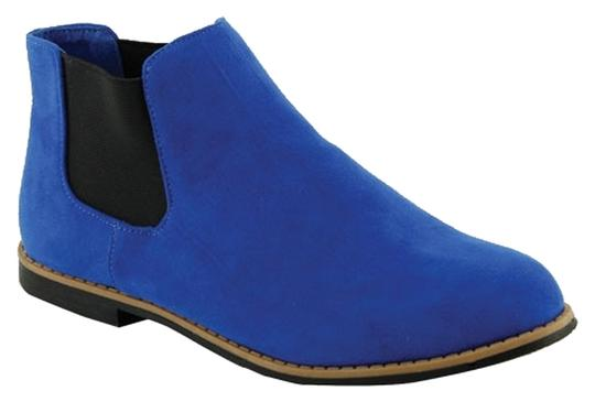 Red Circle Footwear Blue Boots