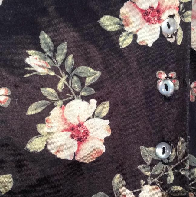 Roxy wear Top Black and floral