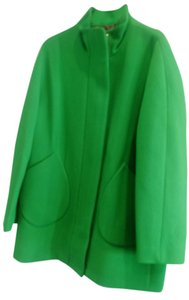 J.Crew Colorful Zip Closure Lined Coat