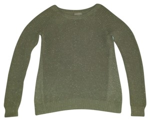 Banana Republic Cotton Crew Neck Metallic Sweater