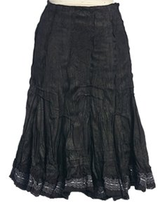 Anthropologie Hazel Winter Skirt CHARCOAL