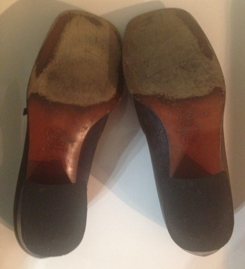 Versace Dark Brown Mules