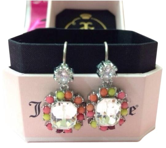 Preload https://item2.tradesy.com/images/juicy-couture-multicolor-new-silver-pink-small-drop-earrings-msrp-yjru5859-958941-0-0.jpg?width=440&height=440
