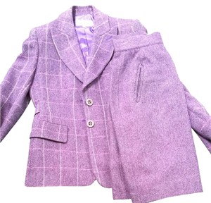 Valentino Vintage Purple Valentino Skirt Suit