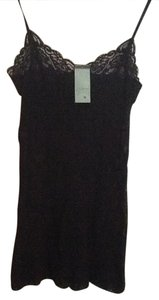 Only Hearts Only Hearts Black Lace Chemise / Cami