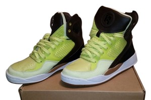 Reebok Black, Brown and Neon green Athletic