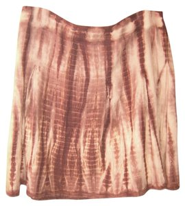 Michael Kors Comfortable Skirt Brown/Cream