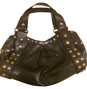 Kooba Studded Leather Shoulder Bag