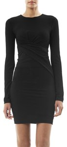 Alexander Wang Twist Long Sleeve Office Appropriate Timeless Classic Dress